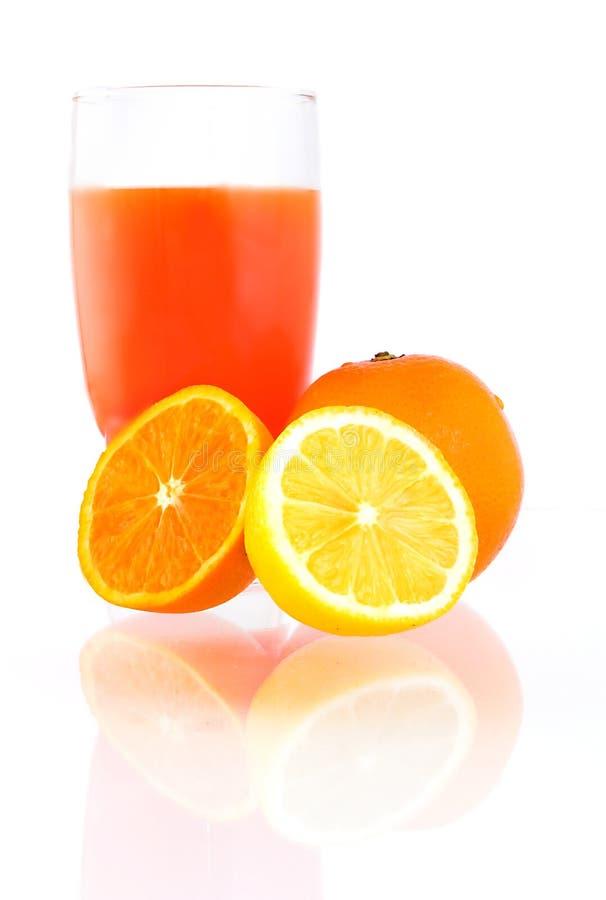 κομμάτι πορτοκαλιών λεμ&omicr στοκ φωτογραφία με δικαίωμα ελεύθερης χρήσης