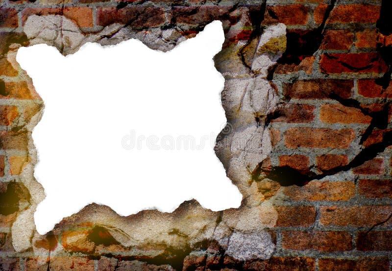 Κομμάτι της Λευκής Βίβλου με την ανασκόπηση Grunge ελεύθερη απεικόνιση δικαιώματος