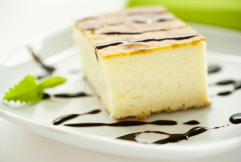 Κομμάτι cheesecake στοκ φωτογραφία με δικαίωμα ελεύθερης χρήσης