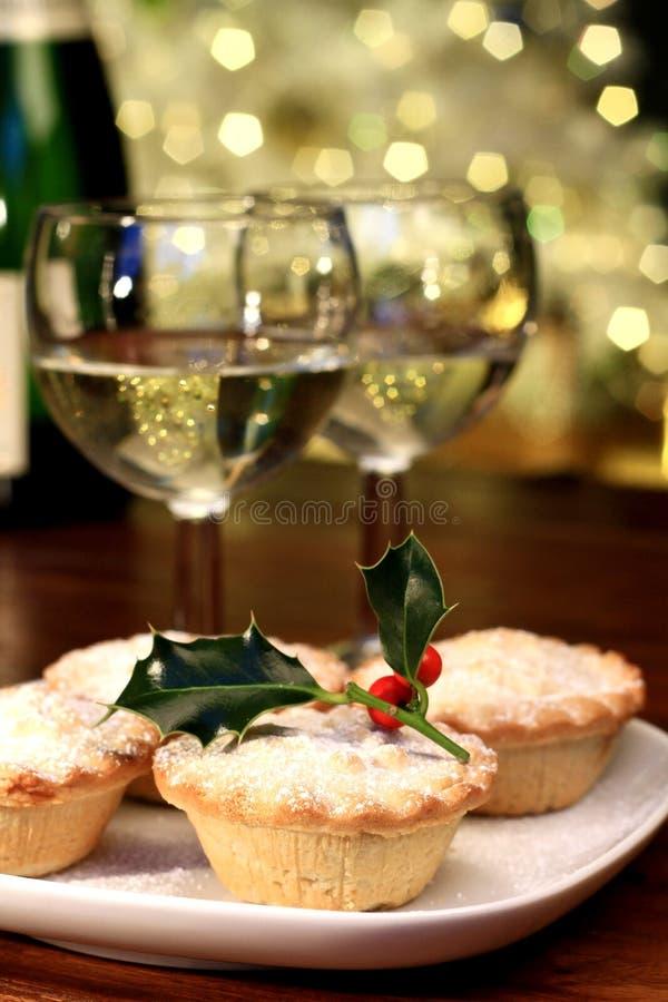 Κομματιάζω-πίτα Χριστουγέννων στοκ εικόνες με δικαίωμα ελεύθερης χρήσης