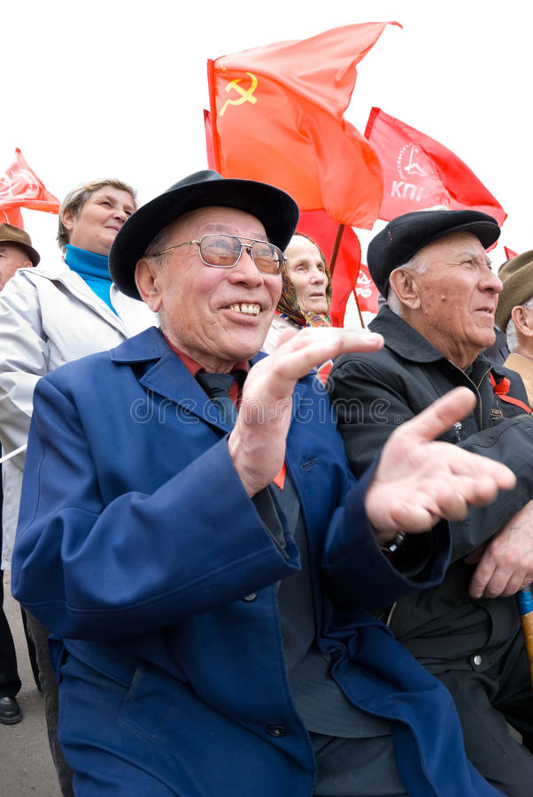 Download κομμουνιστική επίδειξη εκδοτική εικόνες. εικόνα από ευτυχής - 13188211