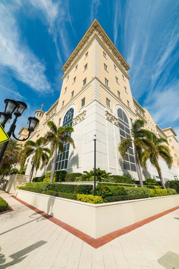 Κομψή εκκλησία σε στο κέντρο της πόλης Clearwater στοκ εικόνες με δικαίωμα ελεύθερης χρήσης