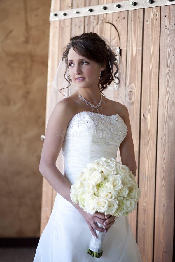 Κομψή νύφη στοκ εικόνα με δικαίωμα ελεύθερης χρήσης