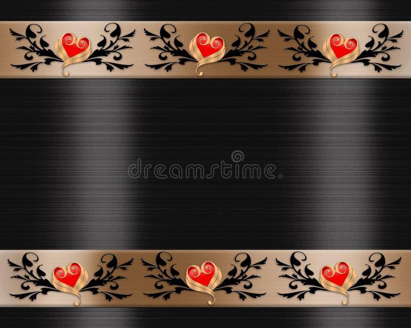 κομψοί βαλεντίνοι ημέρας &si διανυσματική απεικόνιση