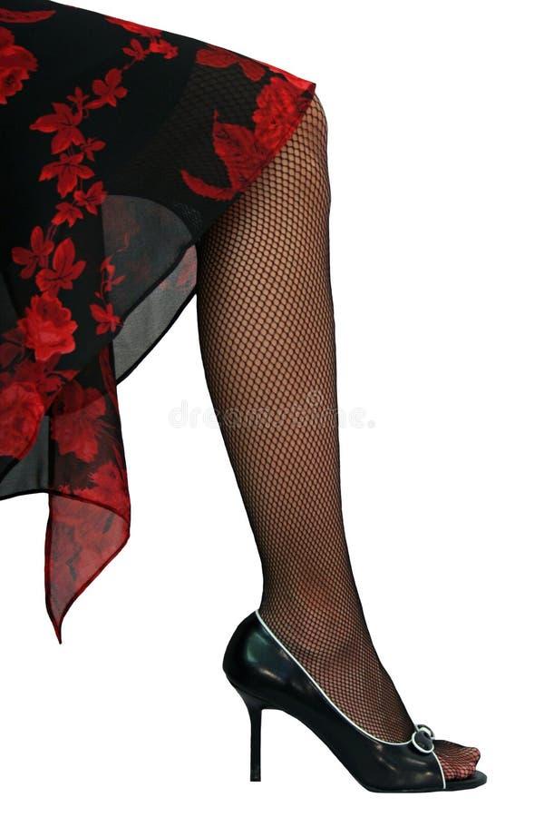 κομψό πόδι στοκ εικόνα με δικαίωμα ελεύθερης χρήσης