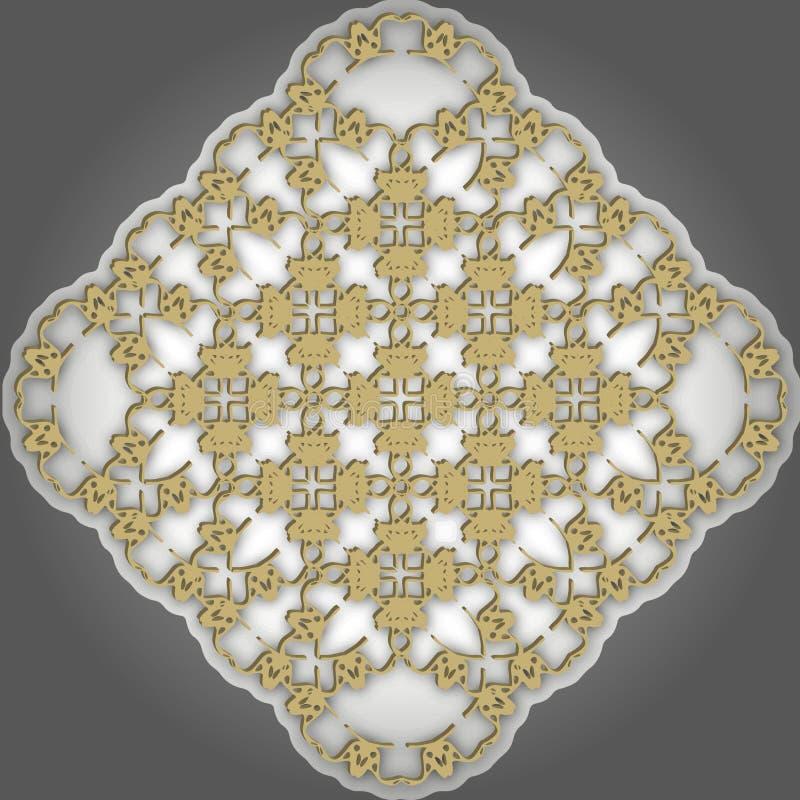 Κομψό σχέδιο μονογραμμάτων απεικόνιση αποθεμάτων