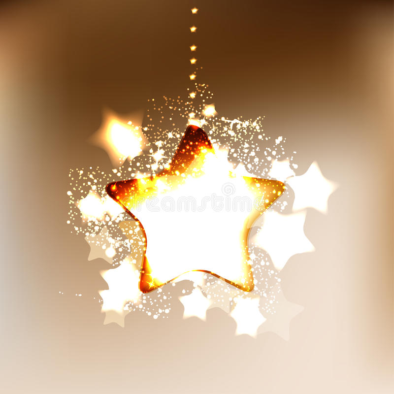 Κομψό υπόβαθρο Χριστουγέννων με snowflakes διανυσματική απεικόνιση
