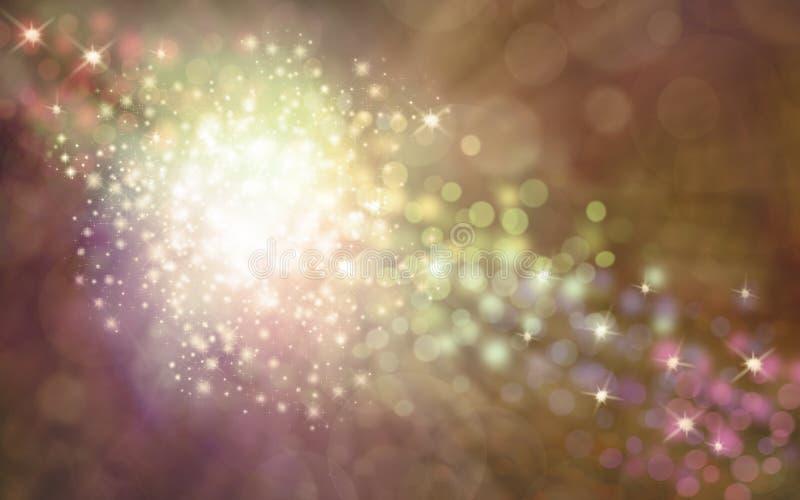 Κομψό χρυσό λαμπυρίζοντας υπόβαθρο σπινθηρισμάτων διανυσματική απεικόνιση