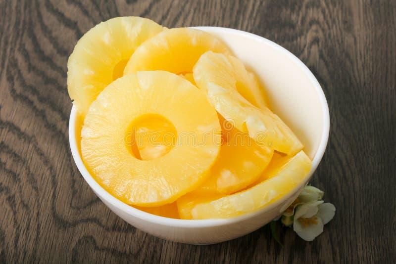 Κονσερβοποιημένος ανανάς στοκ φωτογραφίες
