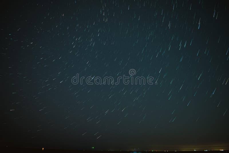 Κοντό ίχνος αστεριών στοκ φωτογραφία