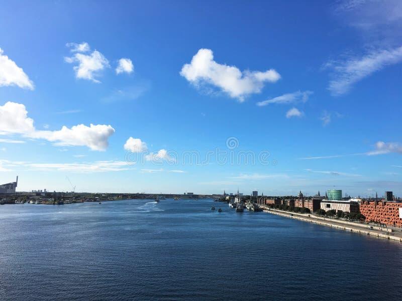 Κοπεγχάγη, η πρωτεύουσα της Δανίας στοκ φωτογραφία με δικαίωμα ελεύθερης χρήσης
