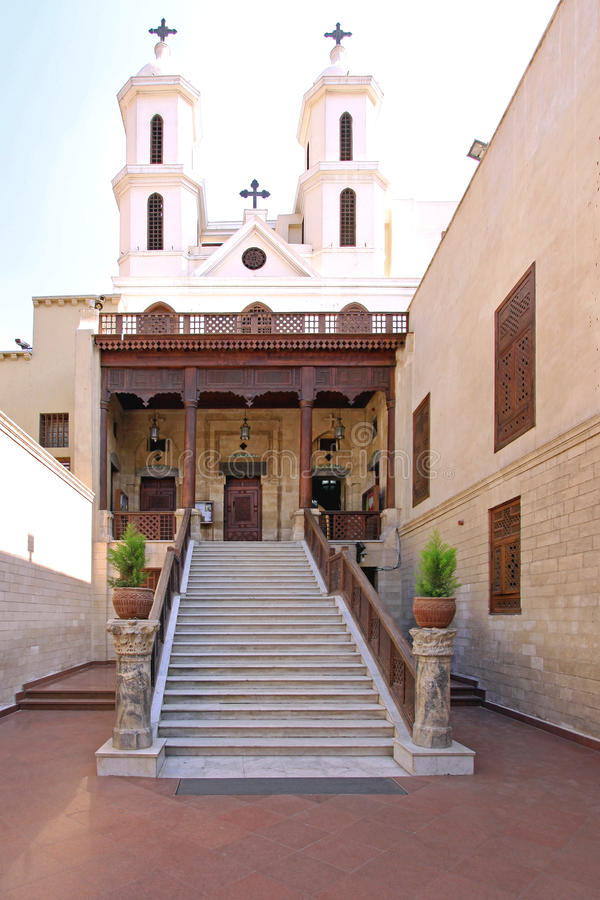 Κοπτική Εκκλησία Κάιρο στοκ εικόνες