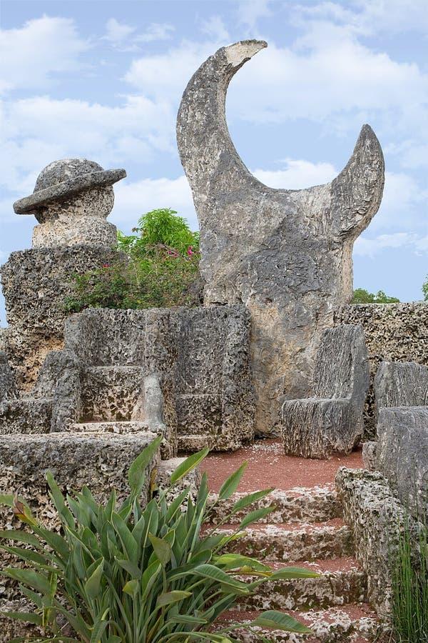Κοράλλι Castle στοκ φωτογραφία