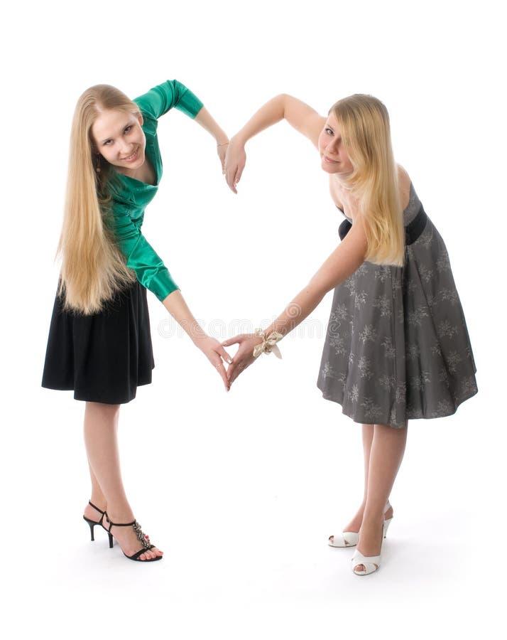 Download κορίτσια δύο νεολαίες στοκ εικόνες. εικόνα από θηλυκό - 13176494