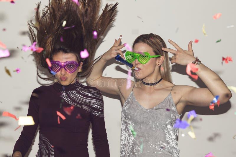 Κορίτσια κόμματος στοκ φωτογραφία