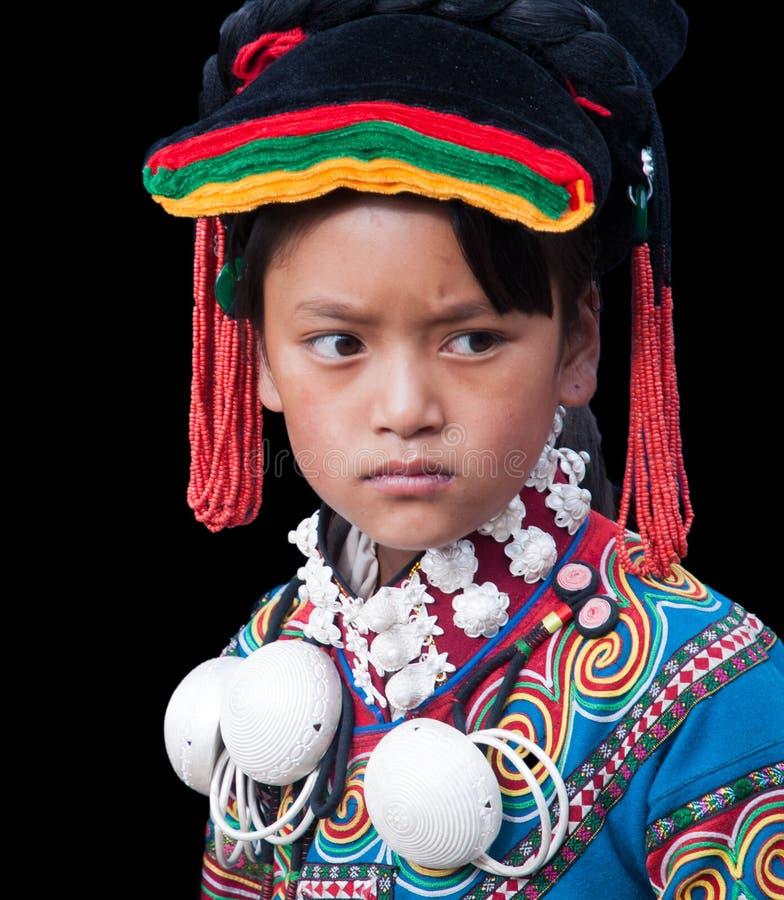Κορίτσια με το κοστούμι φεστιβάλ στοκ εικόνα με δικαίωμα ελεύθερης χρήσης