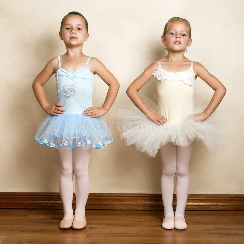 κορίτσια μπαλέτου στοκ εικόνα