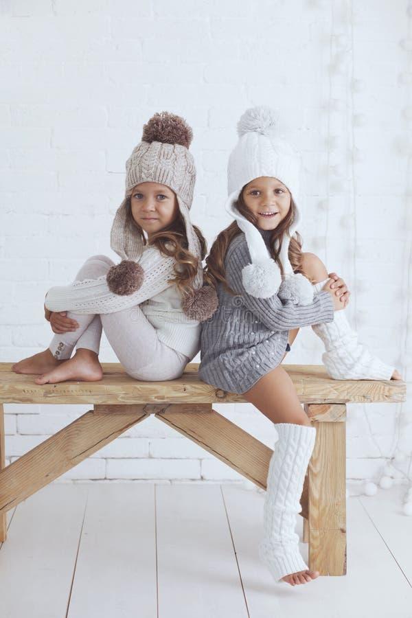 κορίτσια μόδας λίγα στοκ φωτογραφία