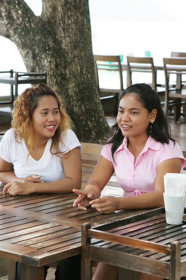 κορίτσια Ταϊλανδός στοκ εικόνες