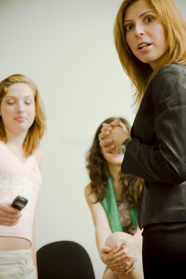 κορίτσι έκπληκτο στοκ φωτογραφία με δικαίωμα ελεύθερης χρήσης