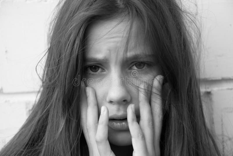 κορίτσι απελπισίας στοκ φωτογραφίες με δικαίωμα ελεύθερης χρήσης