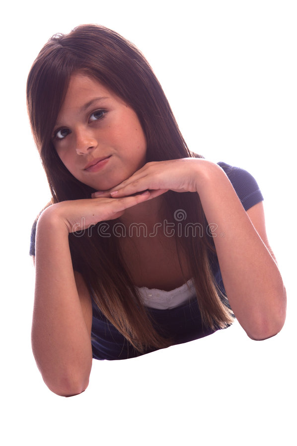 Download κορίτσι αρκετά νέο στοκ εικόνα. εικόνα από πρόσωπο, κορίτσι - 1529355