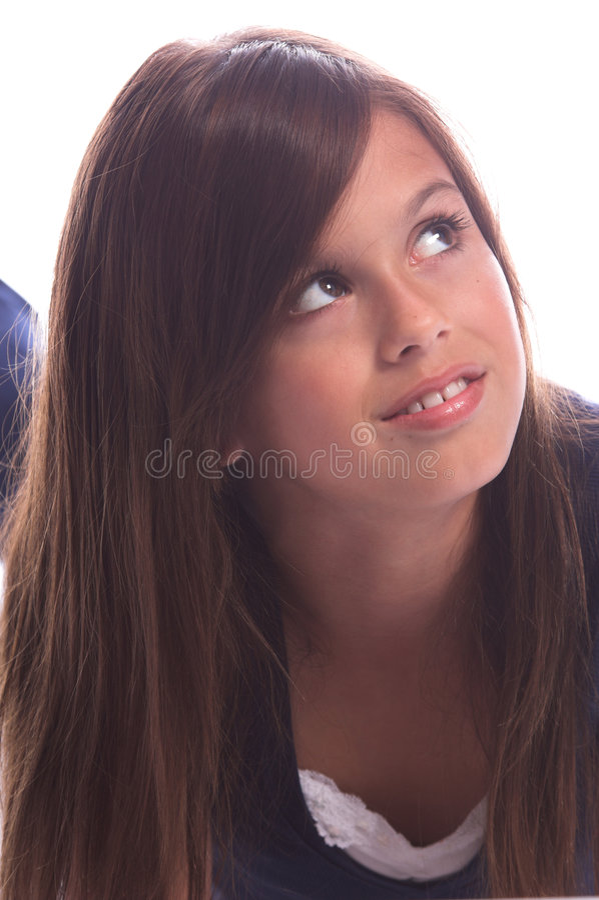 Download κορίτσι αρκετά νέο στοκ εικόνα. εικόνα από αρκετά, ύφος - 1533363