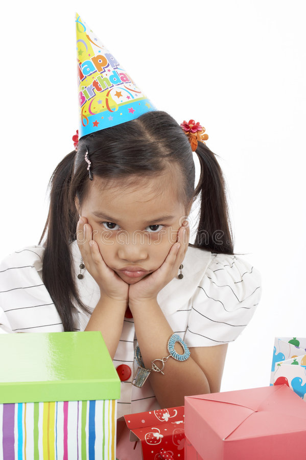 κορίτσι γενεθλίων στοκ φωτογραφία με δικαίωμα ελεύθερης χρήσης