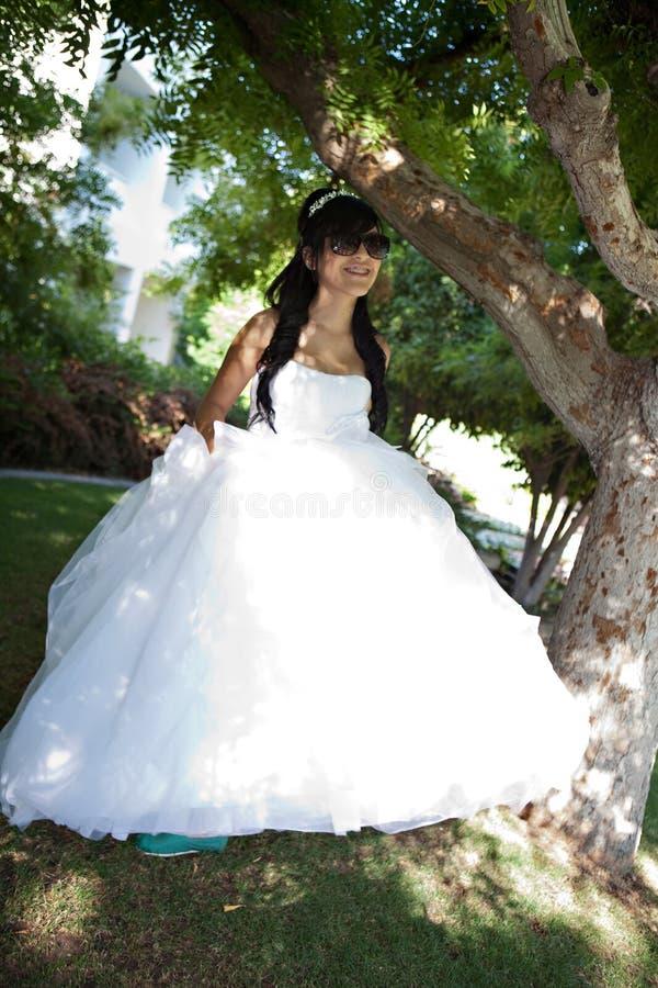 Κορίτσι γενεθλίων Quinceanera στοκ εικόνα με δικαίωμα ελεύθερης χρήσης