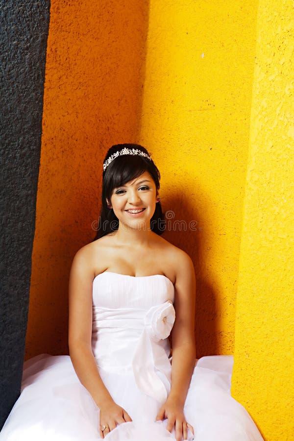 Κορίτσι γενεθλίων Quinceanera στοκ φωτογραφίες