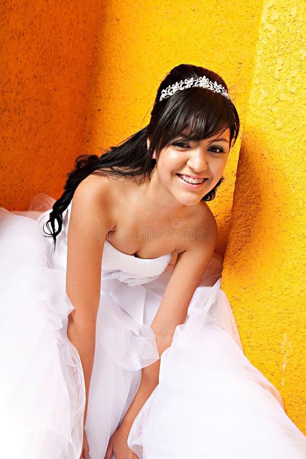 Κορίτσι γενεθλίων Quinceanera στοκ φωτογραφία με δικαίωμα ελεύθερης χρήσης
