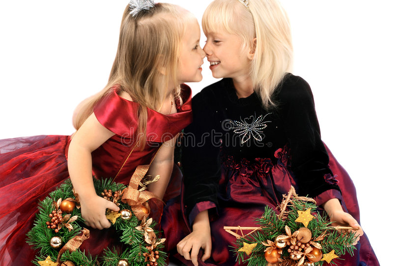 κορίτσι δύο φίλων στοκ φωτογραφία με δικαίωμα ελεύθερης χρήσης