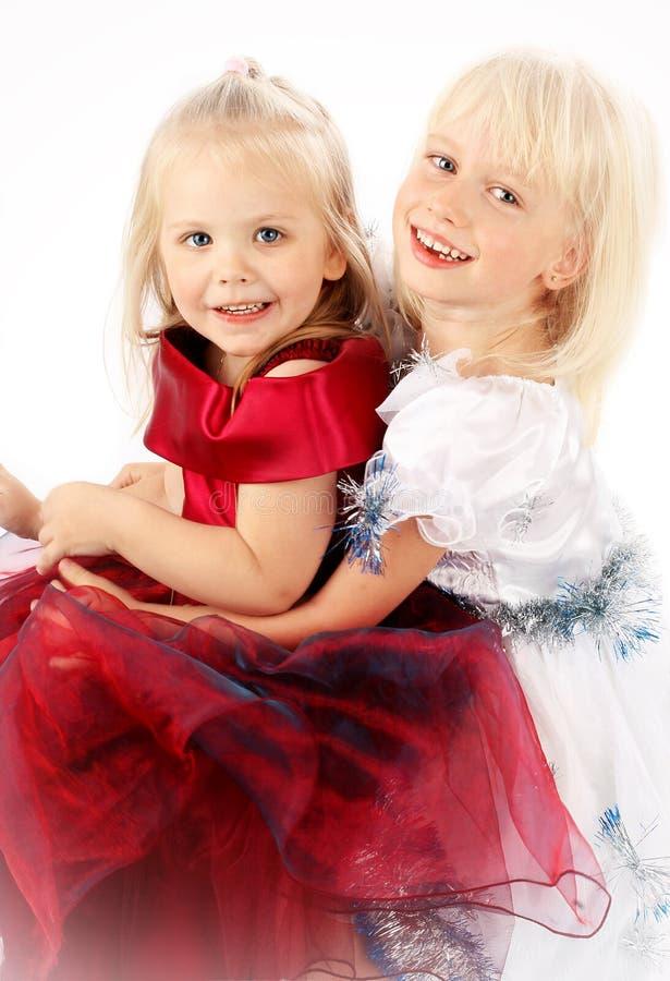 κορίτσι δύο φίλων στοκ εικόνα