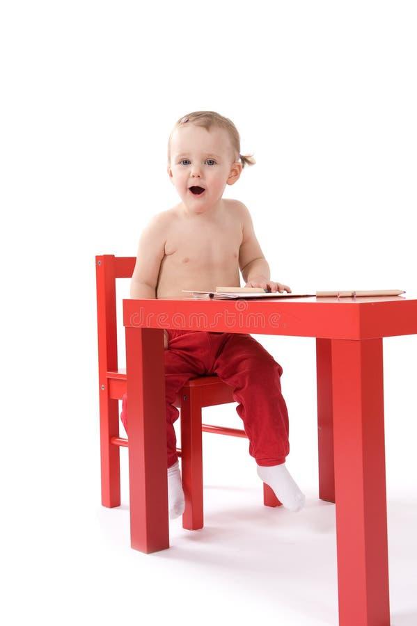 Download κορίτσι εδρών μωρών λίγη κόκ&ka Στοκ Εικόνα - εικόνα από πίνακας, διασκέδαση: 17050759