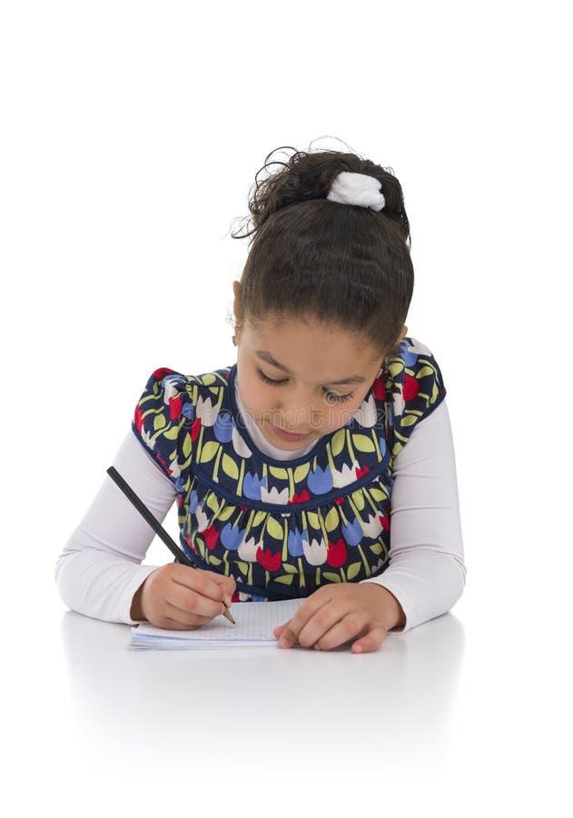 Κορίτσι εκπαίδευσης στοκ εικόνες με δικαίωμα ελεύθερης χρήσης