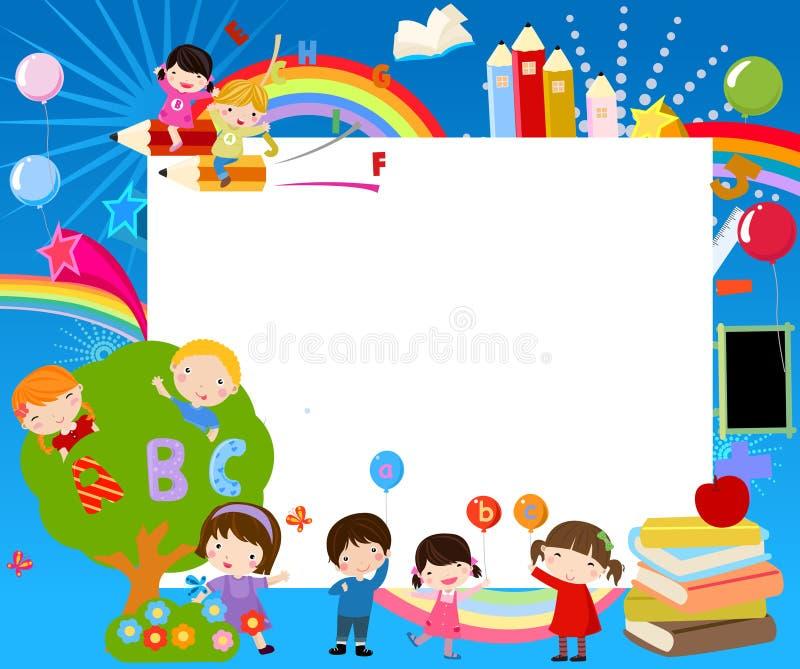κορίτσι-εύθυμα Χριστούγεννα πατινάζ διανυσματική απεικόνιση