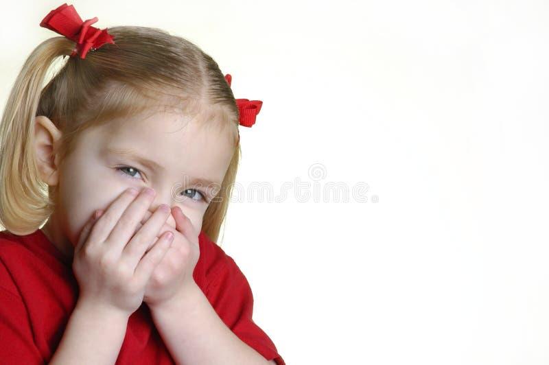 κορίτσι ΙΙ 3 προσώπων λίγη π&alpha στοκ εικόνα