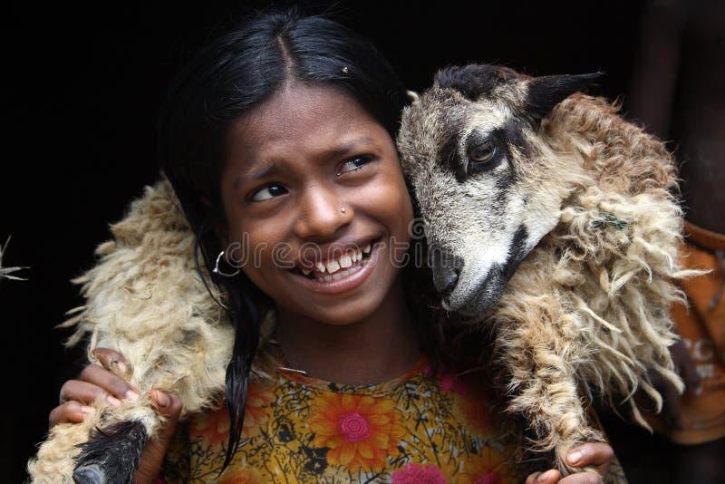 κορίτσι Ινδία παιδιών στοκ φωτογραφίες