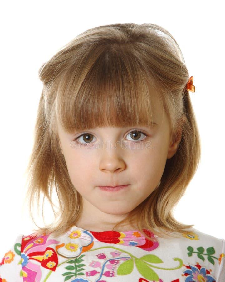 κορίτσι λίγα άσπρα στοκ εικόνα με δικαίωμα ελεύθερης χρήσης