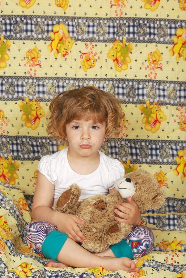 κορίτσι λίγα νυσταλέα στοκ φωτογραφία με δικαίωμα ελεύθερης χρήσης