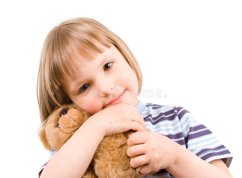 κορίτσι λίγο παιχνίδι στοκ φωτογραφία με δικαίωμα ελεύθερης χρήσης