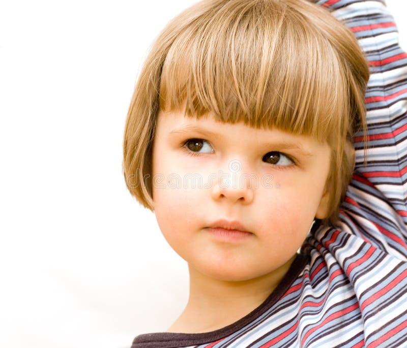 κορίτσι λίγο πορτρέτο στοκ εικόνες με δικαίωμα ελεύθερης χρήσης