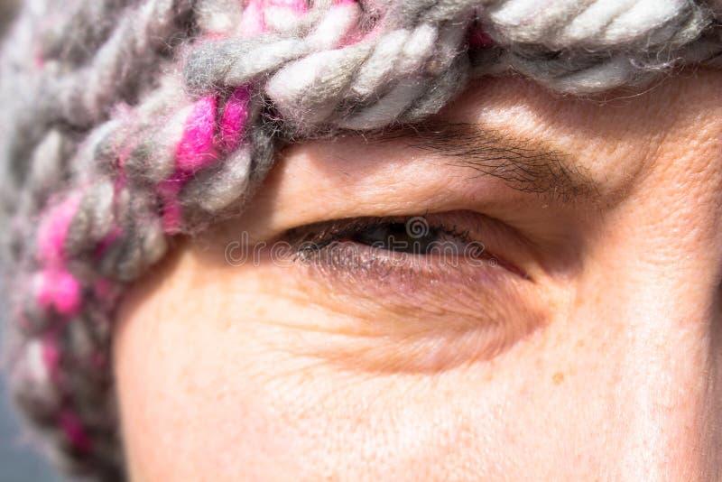 Κορίτσι ματιών στοκ εικόνα
