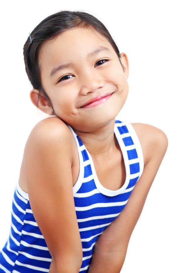 Κορίτσι με ένα χαμόγελο στοκ εικόνες