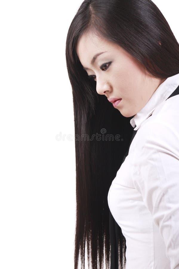 Download Κορίτσι με μακρυμάλλη στοκ εικόνα. εικόνα από ανασκόπησης - 13187635