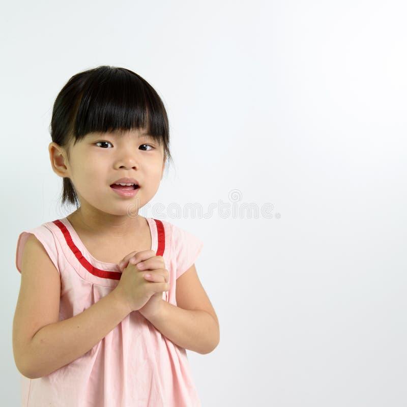 Κορίτσι μικρών παιδιών στοκ φωτογραφίες με δικαίωμα ελεύθερης χρήσης