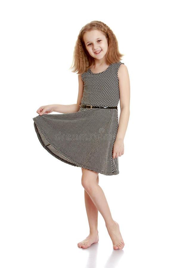 κορίτσι μοντέρνο στοκ εικόνα με δικαίωμα ελεύθερης χρήσης