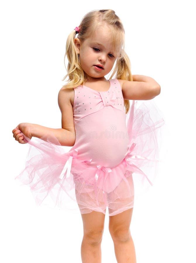 κορίτσι μπαλέτου που ανα στοκ εικόνες