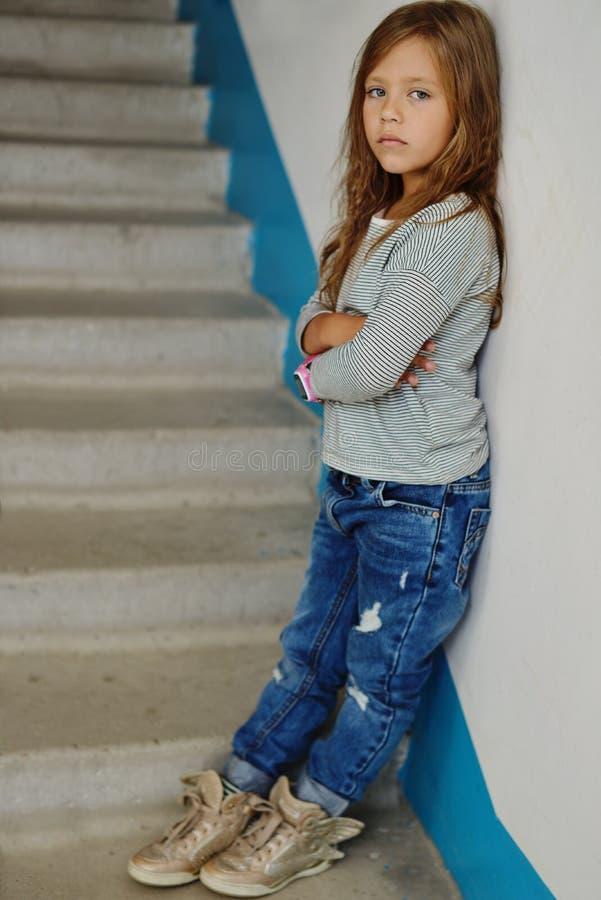 κορίτσι μόδας λίγα στοκ εικόνα με δικαίωμα ελεύθερης χρήσης