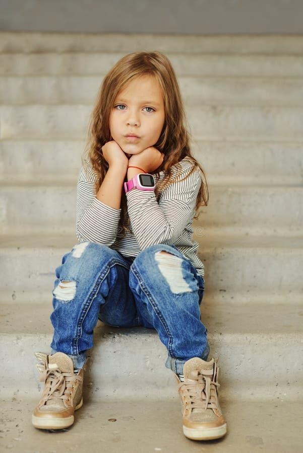 κορίτσι μόδας λίγα στοκ εικόνα